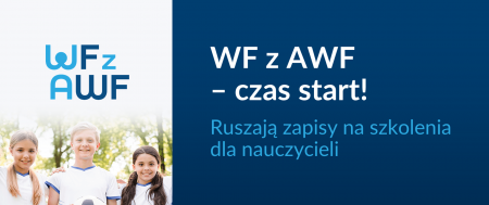 Zapisy na szkolenia dla nauczycieli WF