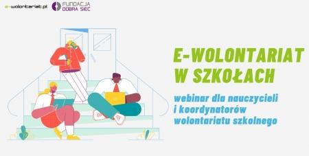 E-wolontariat w szkołach